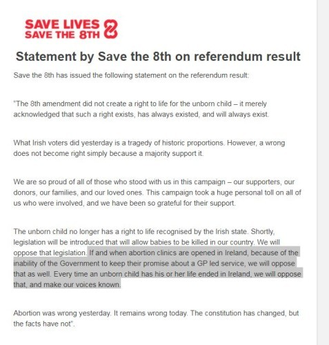 save the 8th statement