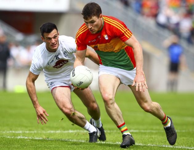 Ciaran Moran with Eoin Doyle