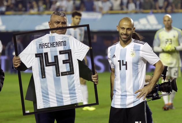 Argentina Haiti Soccer