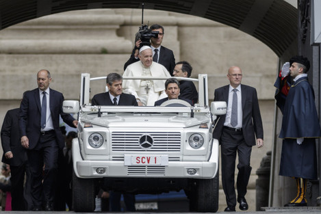 Pope Francis Wednesday Audience: May 2018