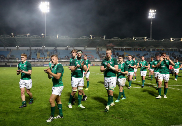 Ireland dejected