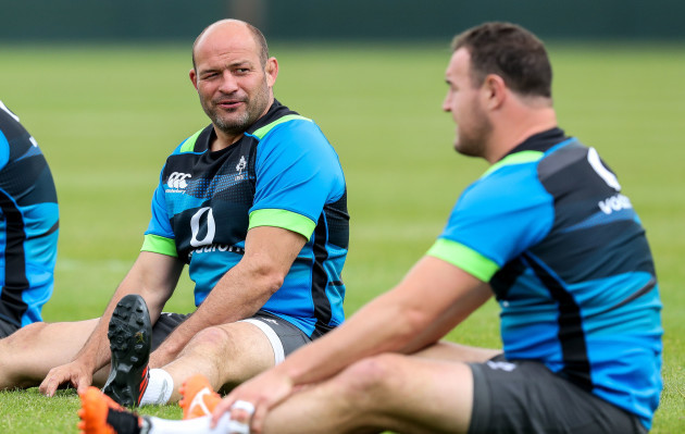 Rory Best and Rob Herring