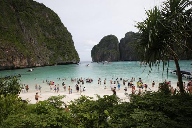 Thailand Beach Closure