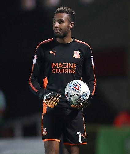 Swindon Town v Coventry City - Sky Bet League Two - County Ground