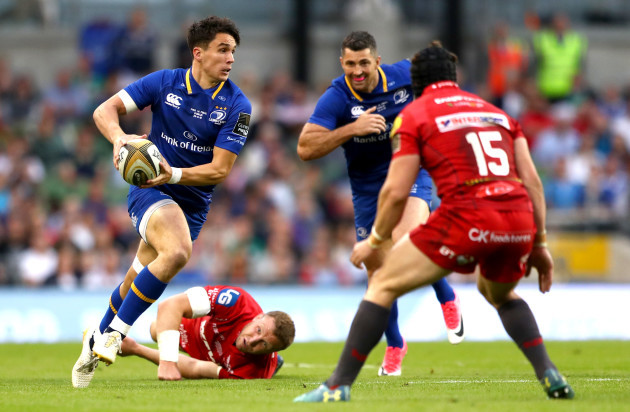 Joey Carbery and Hadleigh Parkes
