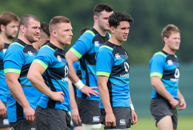 Jack McGrath, Andrew Conway and Joey Carbery