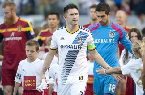 Soccer - MLS - Western Conference - Semi Final - LA Galaxy v Real Salt Lake - Stubhub stadium