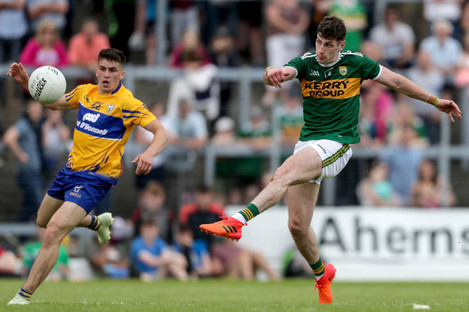 Paul Geaney scores a point