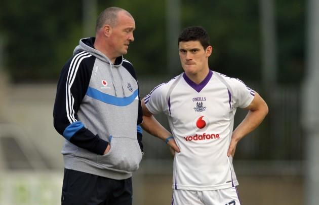 Pat Gilroy with Diarmuid Connolly