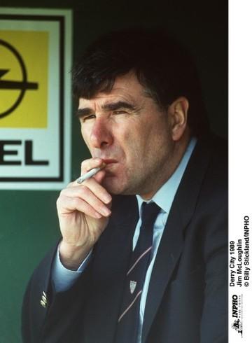 Jim McLoughlin Derry City 1989