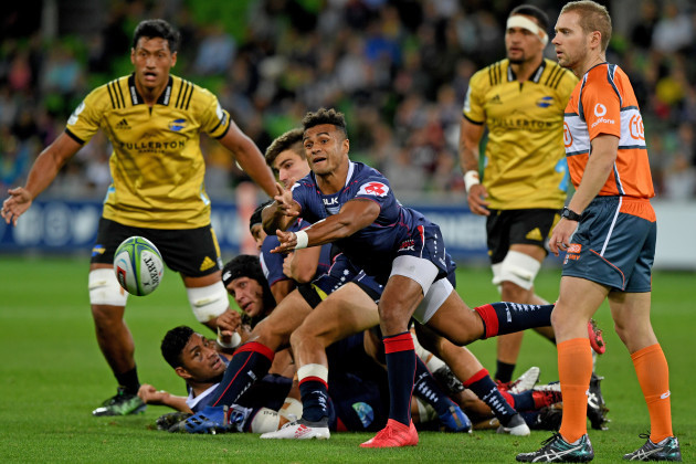 SUPER RUGBY REBELS HURRICANES