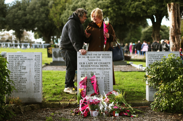 Flowers for Magdalenes remembrance