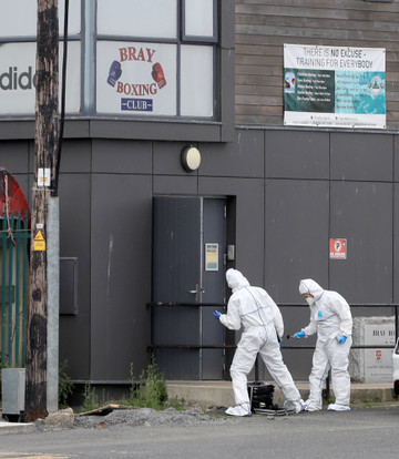 Shooting incident Bray Boxing Club