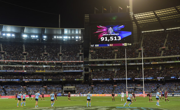 Rugby League - State of Origin - Game 2 NSW v Queensland - MCG