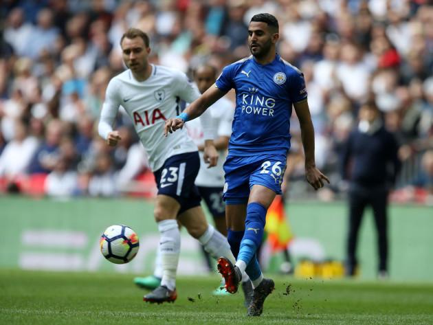 Tottenham Hotspur v Leicester City - Premier League - Wembley Stadium