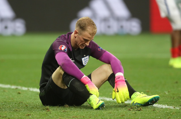 Joe Hart File Photo