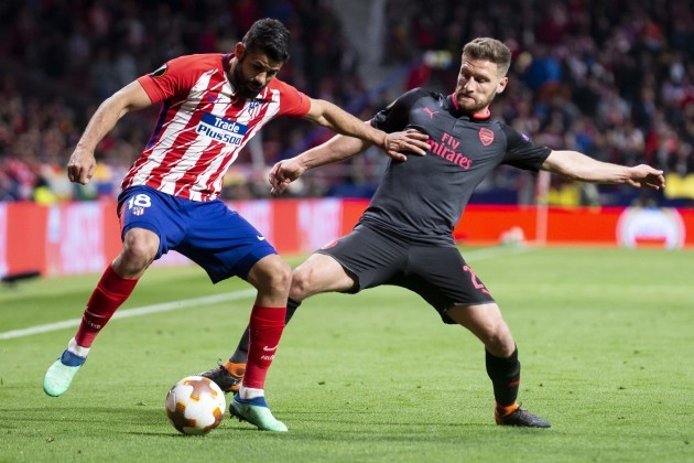 Spain: Atletico de Madrid vs Arsenal FC