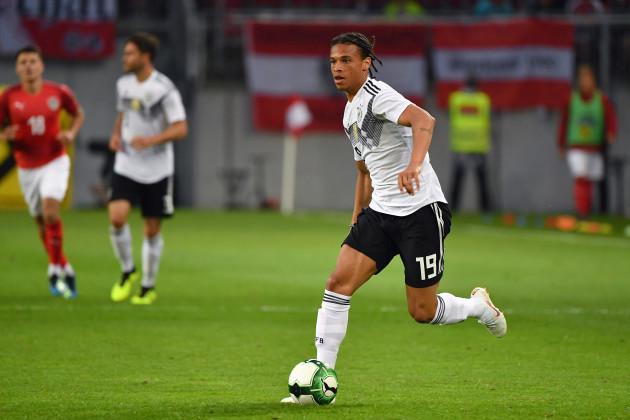 Football Laenderspiel / Freundschaftsspiel / Oesterreich-Germany 2-1