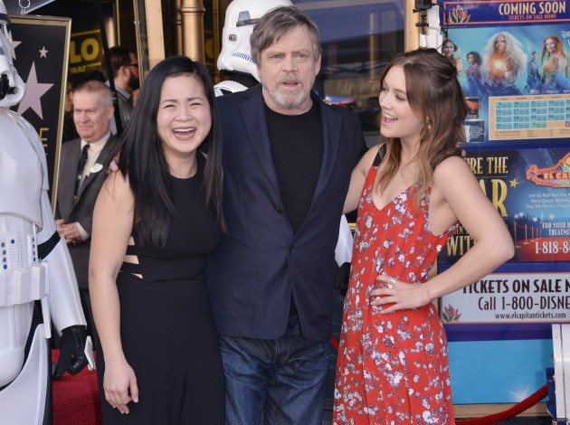 Mark Hamill Walk of Fame Ceremony - Los Angeles