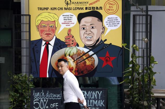 Singapore US Trump North Korea