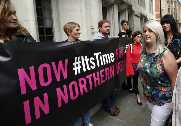 Britain Northern Ireland Abortion Ban
