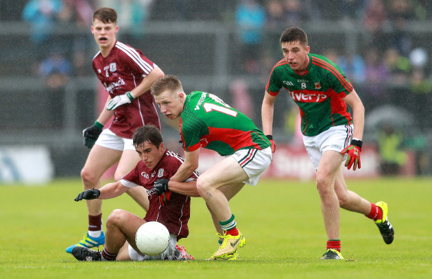 Fionnan Garvey with Ryan O'Donoghue and Colm Murphy