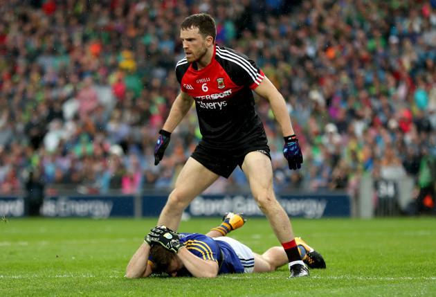 James O'Donoghue dejected