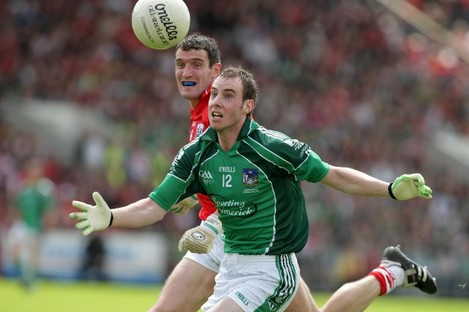 Seanie Buckley with Graham Canty