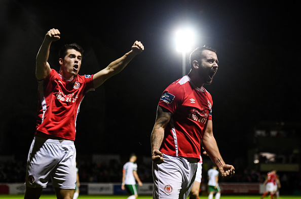 St Patrick's Athletic v Cork City - SSE Airtricity League Premier Division