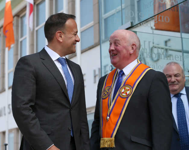 Leo Varadkar in Northern Ireland