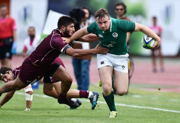 Sean O'Brien on the attack