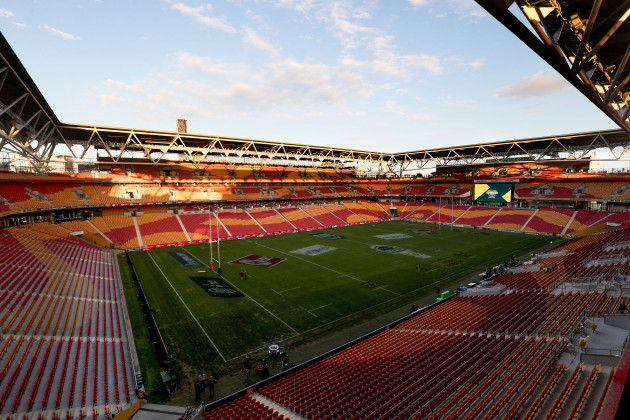 A view of Suncorp Stadium, Brisbane