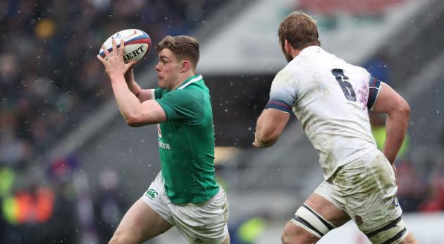 Ireland's  Garry Ringrose