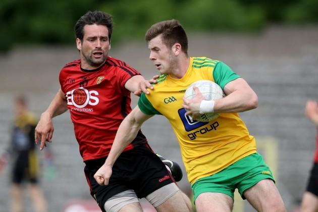 Eoghan Ban Gallagher with Kevin McKernan