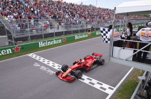 F1-Canadian GP Auto Racing