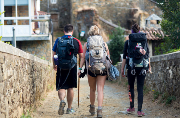 im off then losing and finding myself on the camino de santiago