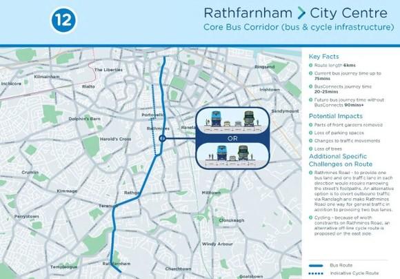 Dublin's radical bus corridor plan explained: How many