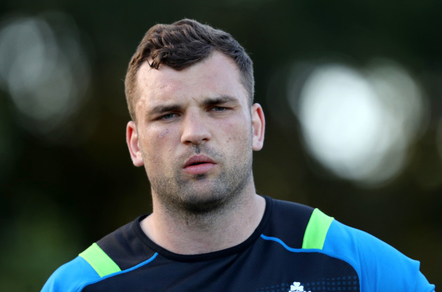 Tadhg Beirne during training