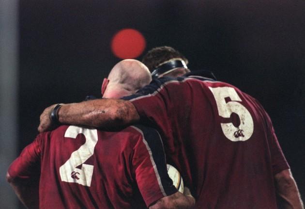 Keith Wood and John Langford 8/1/2000