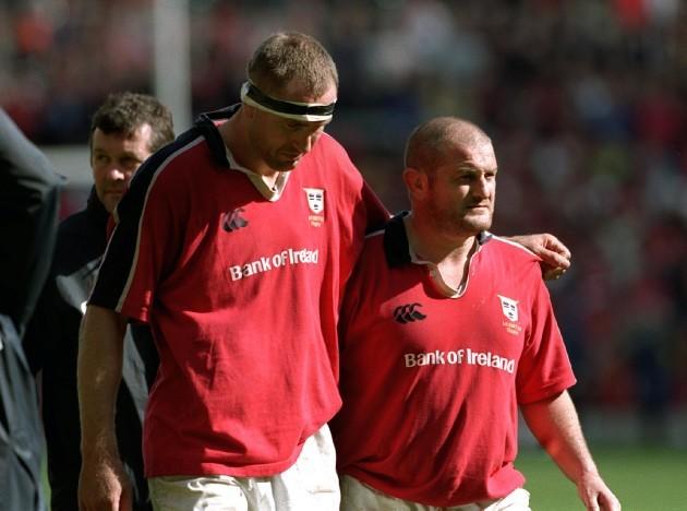 John Langford with Peter Clohessy 27/5/2000