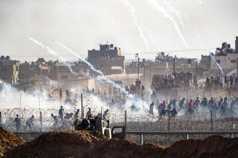 MIDEAST-GAZA-PROTEST