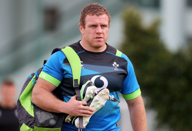Sean Cronin arrives for training