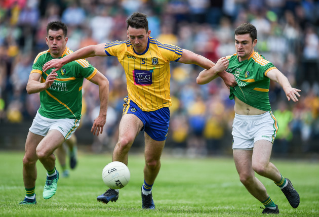 John McManus with Paddy Maguire and Ryan O Rourke