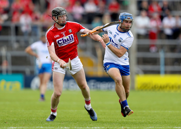 Damien Cahalane with Colin Dunford