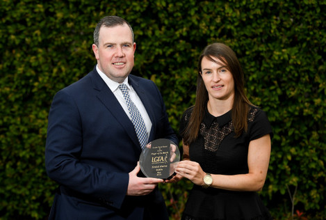 The Croke Park Hotel & LGFA Player of the Month award for May