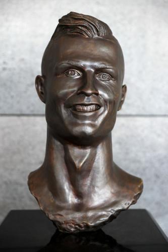 Cristiano Ronaldo Statue File Photo
