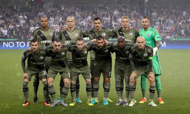 Legia Warszawa team