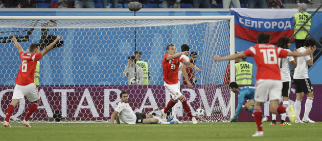 Russia Soccer WCup Russia Egypt
