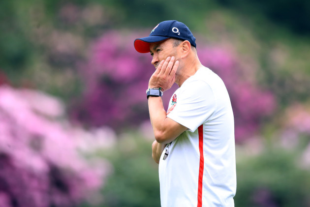 England Training and Press Conference - Pennyhill Park