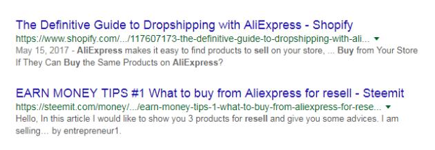 Dropshipping Centre Aliexpress